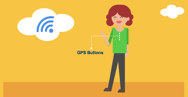 GPS buttons