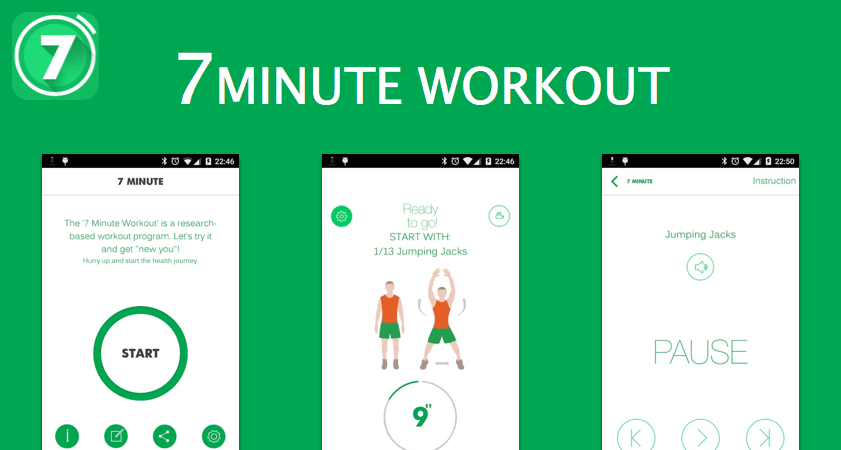 get an amazing workout in just 7 Minutes