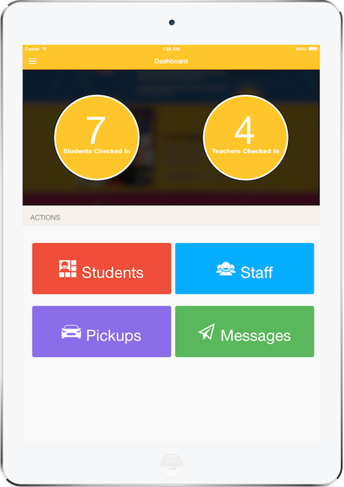 Keepur - A School Management app with check-in, check-out, messaging and reporting capabilities