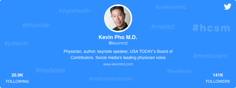 Kevin Pho healthcare twitter