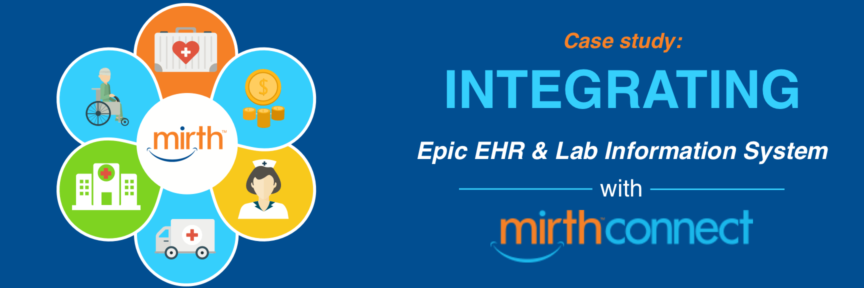 how to integrate Epic with lab information system with Mirth