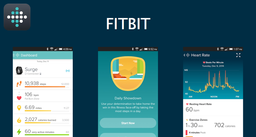 fitbit help you stay motivated and improve your health by tracking your activity, exercise, food, weight and sleep