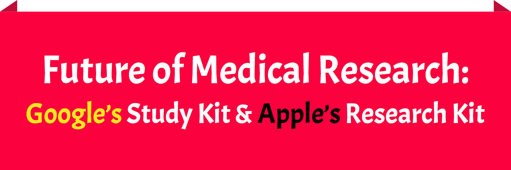 apple's researchkit and google's studykit