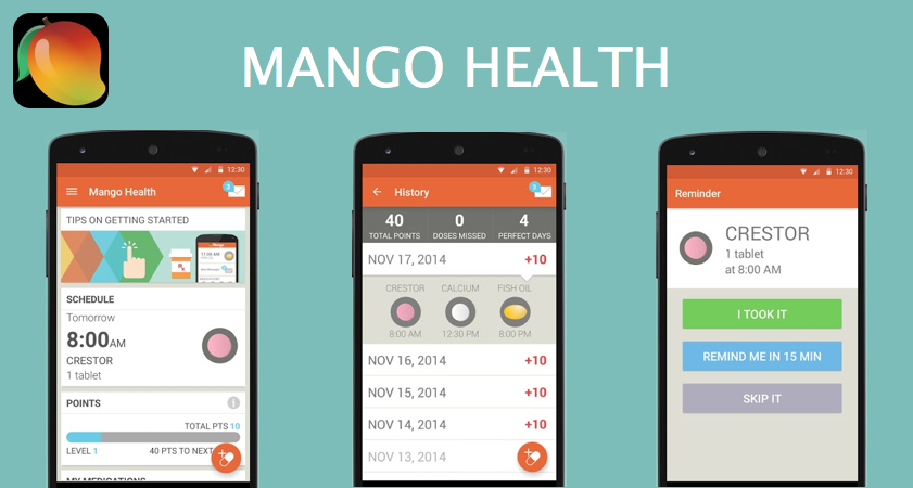 mango health helps you manage your medications and take care of yourself