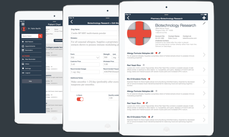 mHealth app to automate and streamline prescriptions