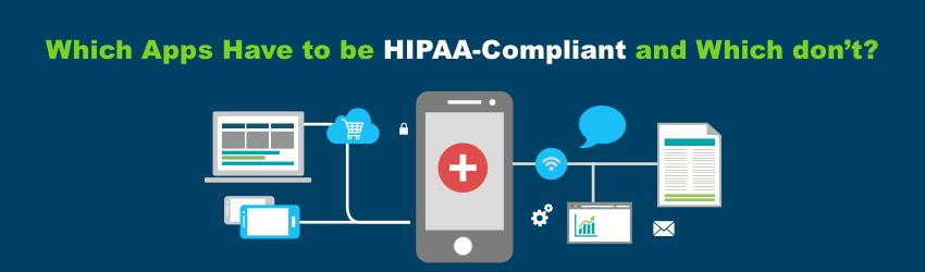 HIPAA compliance for health applications